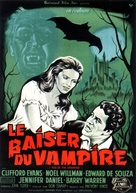 The Kiss of the Vampire - French Movie Poster (xs thumbnail)