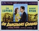 On Dangerous Ground - Movie Poster (xs thumbnail)