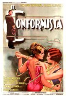 Il conformista - Italian Movie Poster (xs thumbnail)