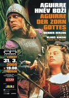 Aguirre, der Zorn Gottes - Czech Movie Poster (xs thumbnail)