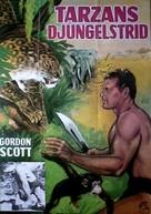 Tarzan the Magnificent - Danish Movie Poster (xs thumbnail)