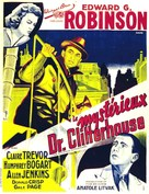 The Amazing Dr. Clitterhouse - French Movie Poster (xs thumbnail)