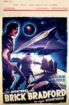 Brick Bradford - Belgian Movie Poster (xs thumbnail)