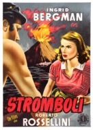 Stromboli - Spanish Movie Poster (xs thumbnail)