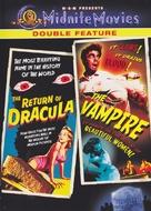 The Return of Dracula - DVD cover (xs thumbnail)