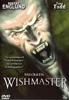 Wishmaster - German DVD movie cover (xs thumbnail)