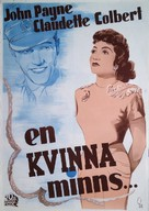Remember the Day - Swedish Movie Poster (xs thumbnail)