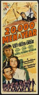 20,000 Men a Year - Movie Poster (xs thumbnail)
