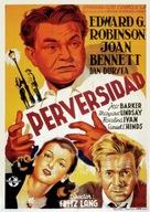 Scarlet Street - Spanish Movie Poster (xs thumbnail)
