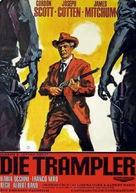 Gli uomini dal passo pesante - German Movie Poster (xs thumbnail)