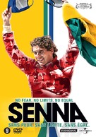 Senna - Dutch DVD cover (xs thumbnail)