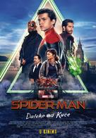 Spider-Man: Far From Home - Croatian Movie Poster (xs thumbnail)