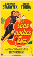 The Lady Eve - Argentinian Movie Poster (xs thumbnail)