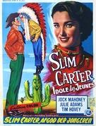 Slim Carter - Belgian Movie Poster (xs thumbnail)