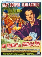 The Plainsman - Belgian Movie Poster (xs thumbnail)