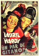 The Bohemian Girl - Spanish Movie Poster (xs thumbnail)