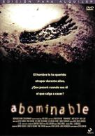 Abominable - Spanish DVD movie cover (xs thumbnail)