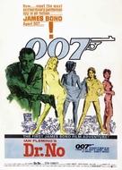 Dr. No - British Movie Poster (xs thumbnail)