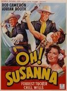 Oh! Susanna - Belgian Movie Poster (xs thumbnail)