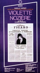 Violette Noziére - Italian Movie Poster (xs thumbnail)