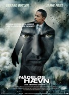 Law Abiding Citizen - Danish Movie Poster (xs thumbnail)