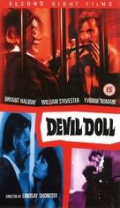 Devil Doll - British VHS movie cover (xs thumbnail)