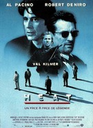 Heat - French Movie Poster (xs thumbnail)
