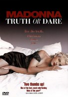 Madonna: Truth or Dare - DVD cover (xs thumbnail)