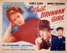 That Brennan Girl - Movie Poster (xs thumbnail)