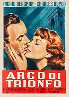 Arch of Triumph - Italian Movie Poster (xs thumbnail)