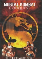 """Mortal Kombat: Conquest"" - British DVD movie cover (xs thumbnail)"