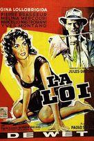 La legge - Belgian Movie Poster (xs thumbnail)
