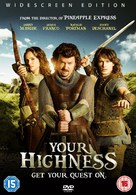 Your Highness - British DVD movie cover (xs thumbnail)
