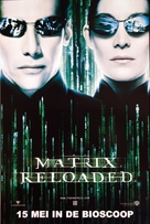 The Matrix Reloaded - Dutch Teaser movie poster (xs thumbnail)