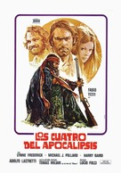 Quattro dell'apocalisse, I - Spanish Movie Poster (xs thumbnail)