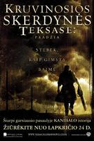 The Texas Chainsaw Massacre: The Beginning - Lithuanian Movie Poster (xs thumbnail)