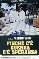 Finché c'è guerra c'è speranza - Italian Movie Poster (xs thumbnail)