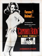 Carmen, Baby - French Movie Poster (xs thumbnail)