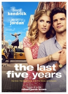 The Last 5 Years - Movie Poster (xs thumbnail)