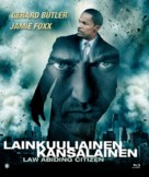 Law Abiding Citizen - Finnish Blu-Ray cover (xs thumbnail)