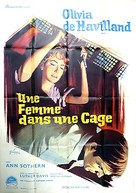 Lady in a Cage - French Movie Poster (xs thumbnail)