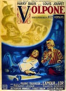 Volpone - French Movie Poster (xs thumbnail)