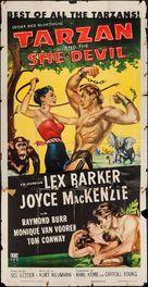 Tarzan and the She-Devil - Movie Poster (xs thumbnail)