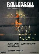 Rollerball - Yugoslav Movie Poster (xs thumbnail)