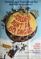 Around the World in Eighty Days - Swedish Movie Poster (xs thumbnail)