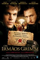 The Brothers Grimm - Brazilian Movie Poster (xs thumbnail)