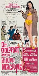 Dr. Goldfoot and the Bikini Machine - Movie Poster (xs thumbnail)