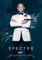 Spectre - Italian Movie Poster (xs thumbnail)
