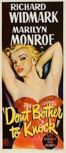 Don't Bother to Knock - Australian Movie Poster (xs thumbnail)