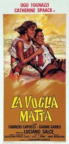 La voglia matta - Italian Movie Poster (xs thumbnail)